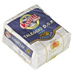 Castelli Taleggio norditalienischer Weichkäse, 48 % Fett, 1/4 La