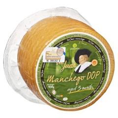 Don Juan Manchego D.O.P spanischer Hartkäse, 50 % Fett 930 g Stü